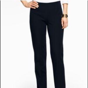 Talbots Classic Side Zip Black Pants